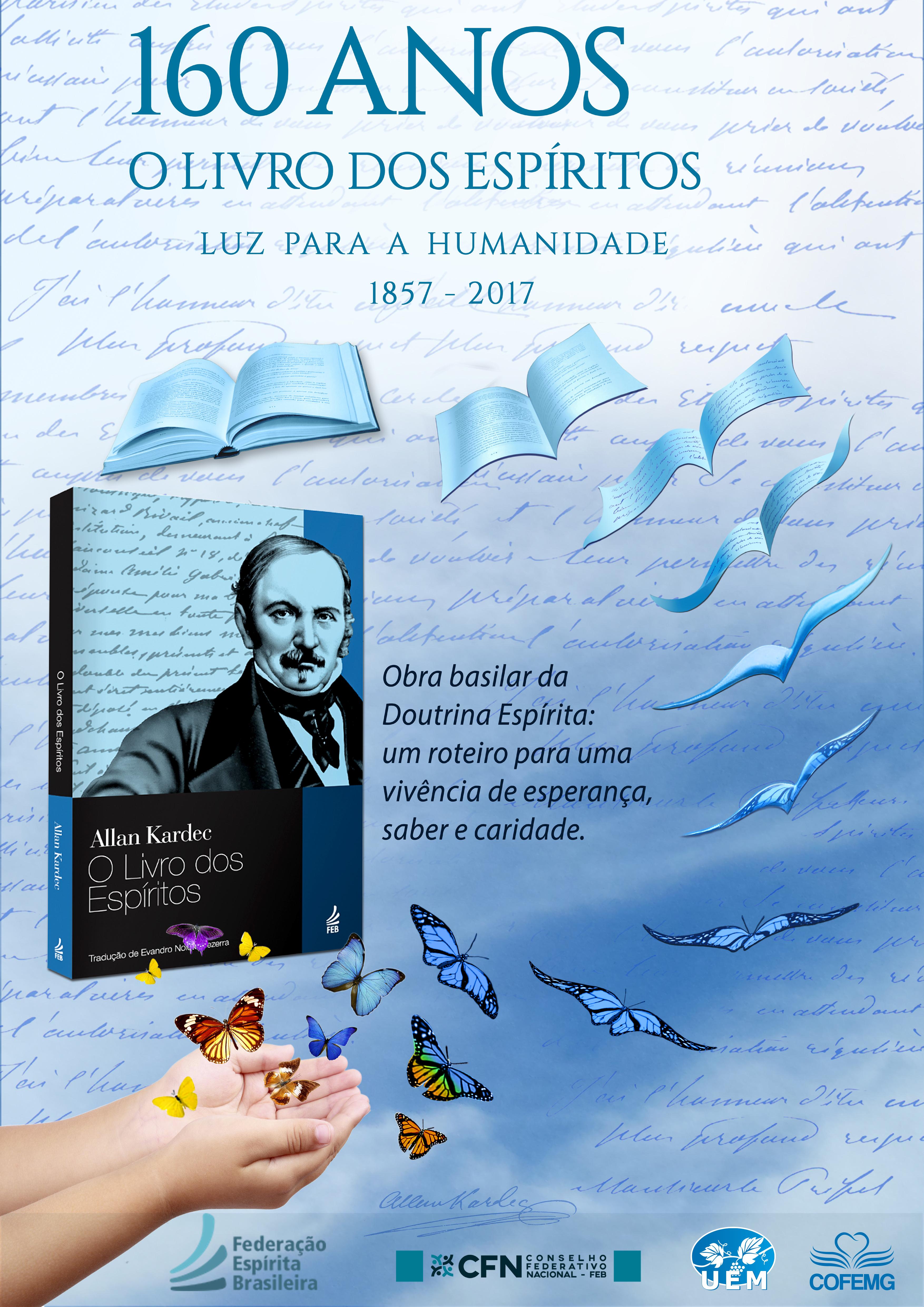 Cartaz de Comemoração dos 160 anos de O Livro dos